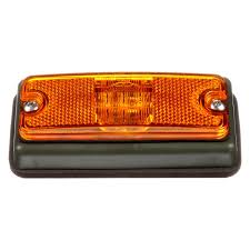 truck lite marker lights truck lite 18085y 18 series rectangular military marker clearance