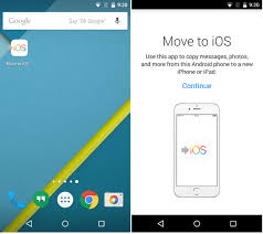 android to iphone transfer app all you need to about apple s new move to ios android app