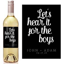 Wine Wedding Gift Wedding Wine Label Custom Wine Label Personalized Wine