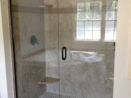 bathroom faucets frameless shower doors with black handle