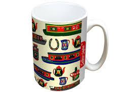jayne tropical fish limited edition designer mug and coaster gift set