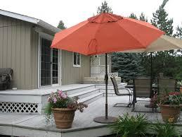 Walmart Patio Umbrellas Clearance by Decor U0026 Tips Deck Umbrellas And Offset Patio Umbrella With