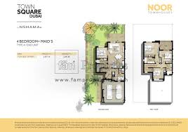 floor plans town square dubai real estate
