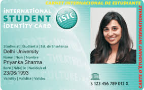 photo card international travel discount card global benefit card isic india