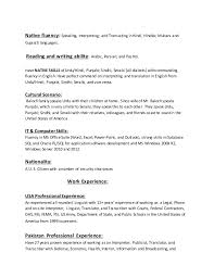examples of resumes for high students objective