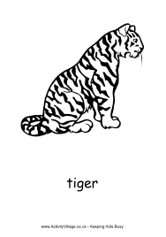 coloring pages of tigers tiger colouring pages
