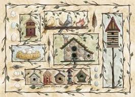 amazon com custom printed rugs bird houses bird houses rug area