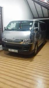 toyota hiace vip rent a car in sri lanka van hire with driver in sri lanka