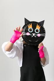 mer mag halloween paper plate masks mer mag