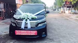 dalam kereta vellfire rental wedding car surabaya mobil mewah toyota vellfire sentosa