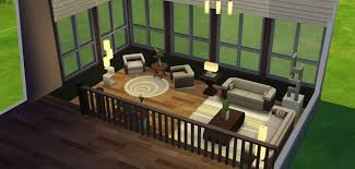 create a room online how to create a split level room sims online