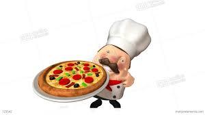 chef pizza chef pizza stock animation 123542