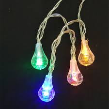 aa battery light bulb yiyang led water drop string light aa battery 2m 5m christmas fairy