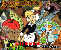 happy thanksgiving from tinkerbell picture 76108372 blingee