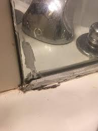 Standing Water In Bathroom Sink Bathroom Needs Updating Mold Stained Sinks Standing Water Slow