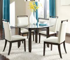 affordable round dining set in chicago contermporary round dining set with white chairs