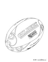 rugby ball coloring pages hellokids com