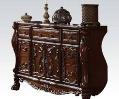 Dining Room Dresser by Amazon Com Acme 12145 Dresden Dresser Cherry Oak Finish Kitchen
