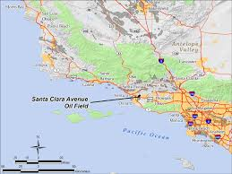 Santa Clara University Map Santa Clara Avenue Oil Field Wikipedia