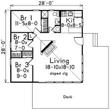 small lake house plans small house plan three bedroom house and decorations