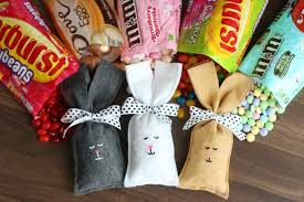 easter bunny candy easter bunny candy filled treat bags gluesticks