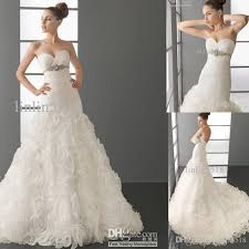 wedding dress outlet online discount 2016 beautiful fashion organza a line sweetheart