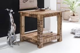 Wohnzimmertisch 100 X 60 Finebuy Wohnzimmertisch Rusti Massiv Holz 60 X 60 X 60 Cm