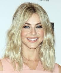 julianne hough bob haircut pictures julianne hough long wavy casual bob hairstyle light blonde