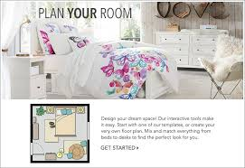 How To Make A Duvet Cover Stay Room Planner Pbteen