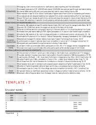 Performance Resume Template Cv Template By Kgp