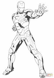 iron man stops the enemy coloring page free printable coloring pages