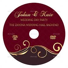 wedding dvd cover and dvd label template vol 9 by owpictures