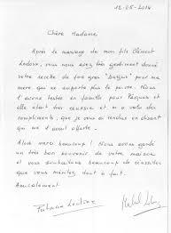 lettre pour mariage lettre de remerciement mariage domaine du vert moulin