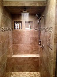 clocks walk in shower heads two person shower design how to add