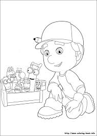 handy manny tools coloring pages handy manny coloring picture coloring pinterest birthdays