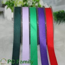 ribbon wholesale hot sale wholesale non elastic 100 cotton twill herringbone