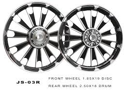 alloy wheel black d4 royal enfield kingway motorcycle parts for