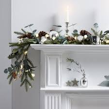 fir u0026 snowberry garland the white company a simple christmas