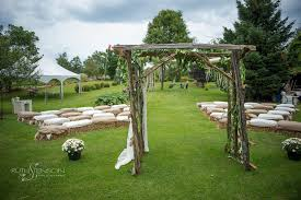 wedding arches ottawa chic country wedding at family farm athens and tony