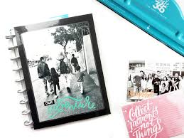Pocket Photo Album The Happy Planner U0027our Adventure U0027 Pocket Pages Album U2014 Me U0026 My