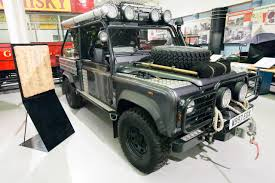 land rover skyfall the defender over the years