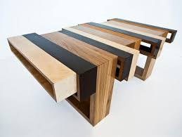 modern wood coffee table belleza wood con fusion by eli chissick wow pinterest woods