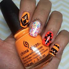 china glaze electric nights ultra music festival aztec nails