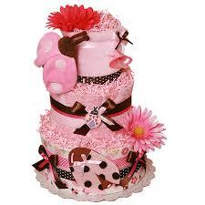 brown and pink ladybug blanket diaper cake 107 00 diaper