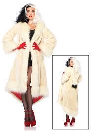 jetsons halloween costumes women u0027s disney cruella coat costume halloween costumes