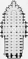 Gothic Architecture Floor Plan Amiens Cathedral Wikipedia