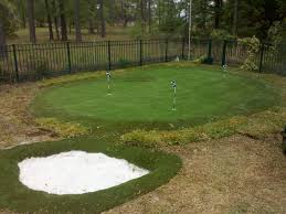 diy backyard putting green real grass backyard and yard design