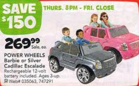 power wheels fisher price cadillac hybrid escalade ext pink black friday deal power wheels fisher price cadillac