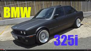 1989 bmw 325i painted in matte black plasti dip youtube