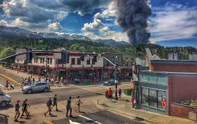 Wildfire John Denver by Rapidly Expanding Wildfire Near Breckenridge Threatens Townwide